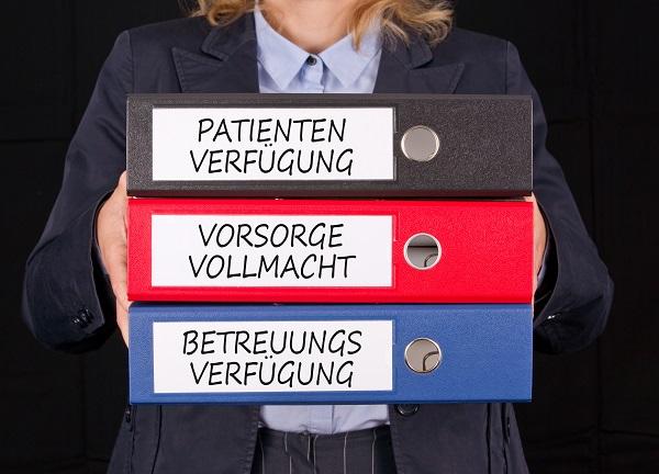 Vorsorgevertrag und Patientenverfügung