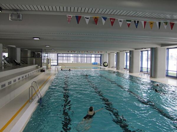 25-Meter - Schwimmerecken Hallenbad