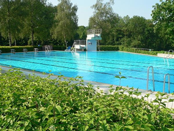 50-Meter - Becken Freibad