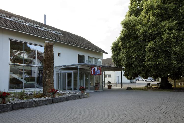Ansicht Gemeindehaus