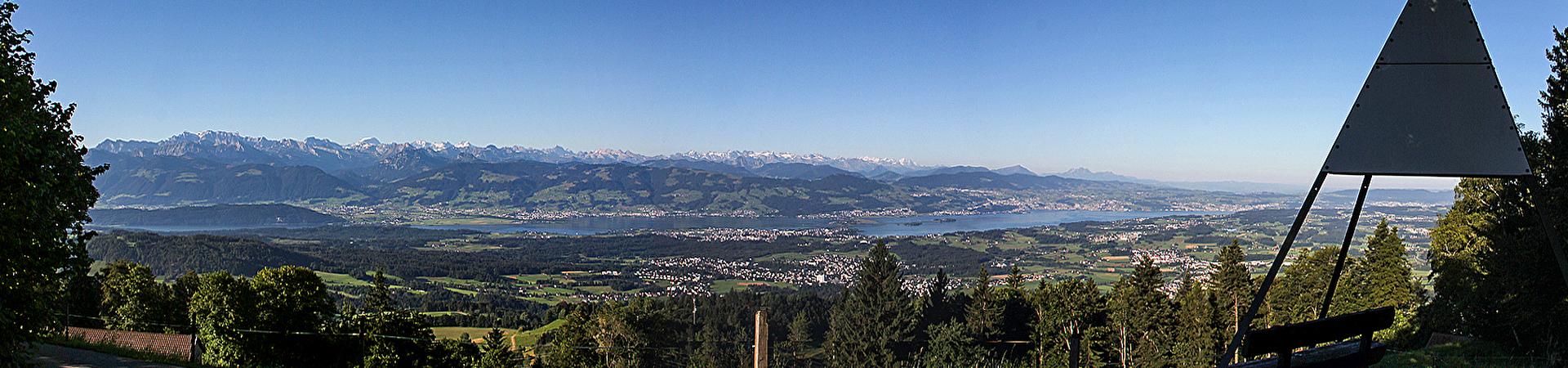 Panorama Bachtel Kulm