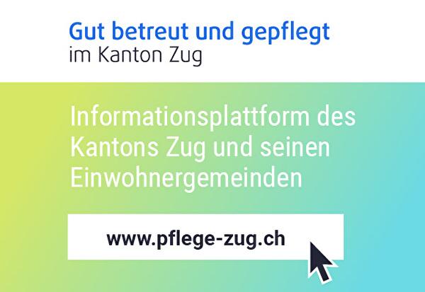 Banner Pflege-Zug