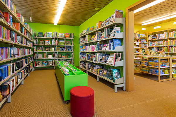 Bibliotheksraum