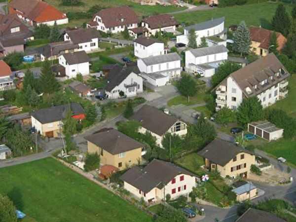 Wolfwil von oben
