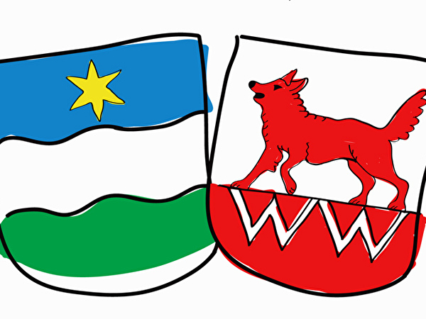 Wappen Wolfwil und Fulenbach