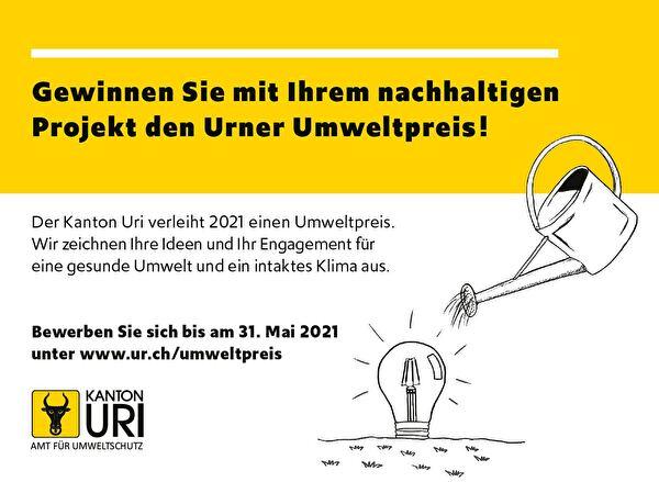 Urner Umweltpreis 2021