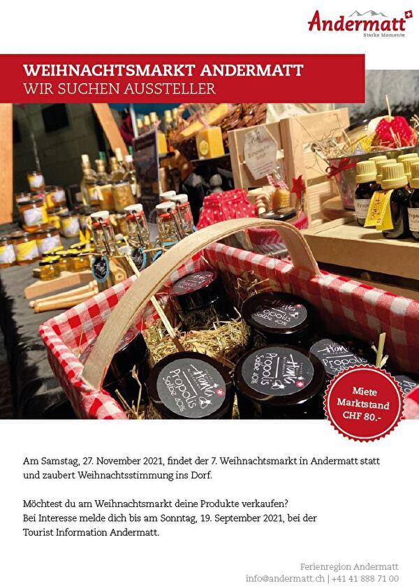 Weihnachtsmarkt Andermatt
