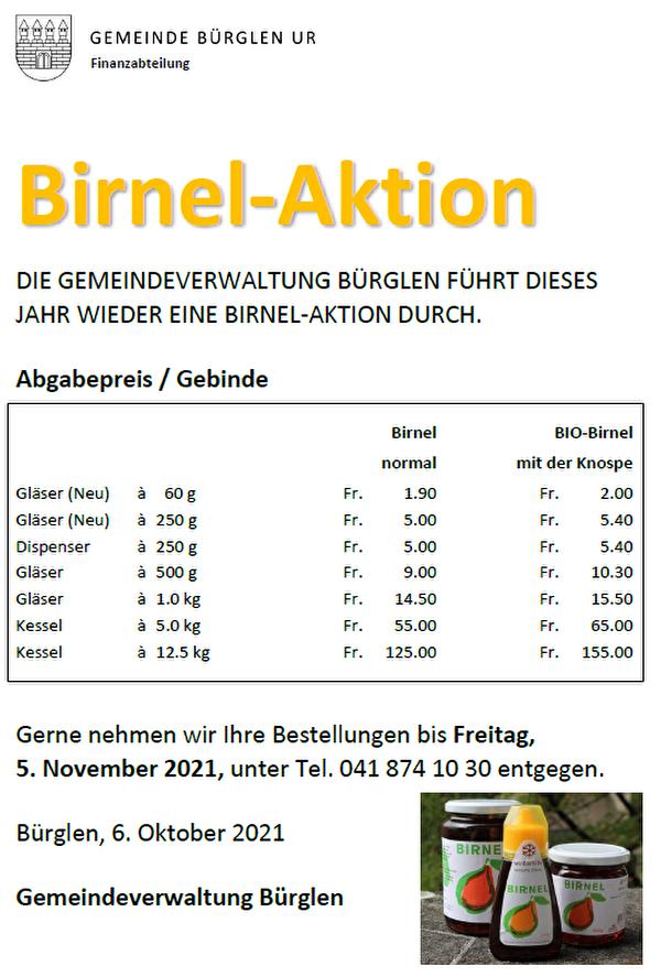 Birnel-Aktion