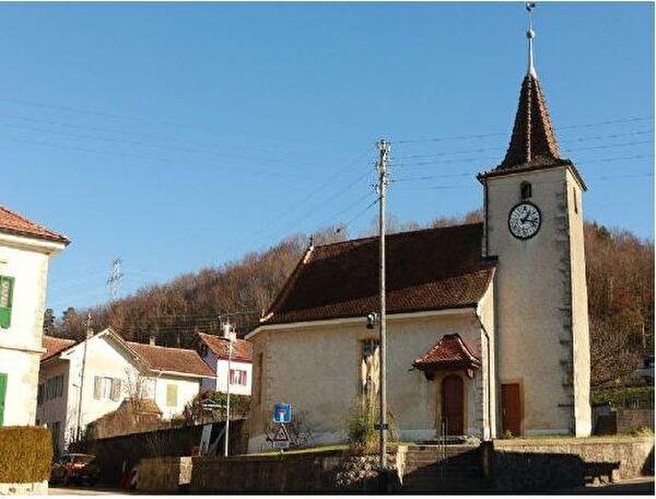 Essert-Pittet - Eglise