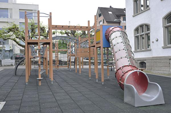 Spielplatz Schulhaus Ludretikon