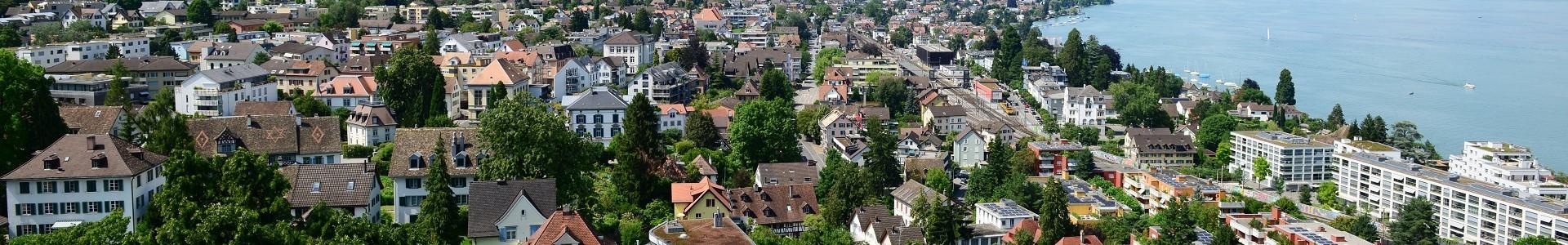 Gemeinde Thalwil Blick aufs Zentrum