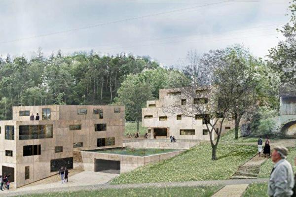 Visualisierung der Überbauungsstudie Areal Weiherhaus
