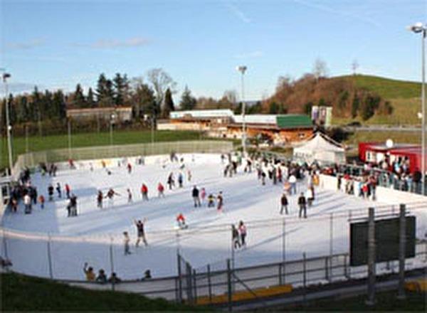 Eisbahn Brand Thalwil