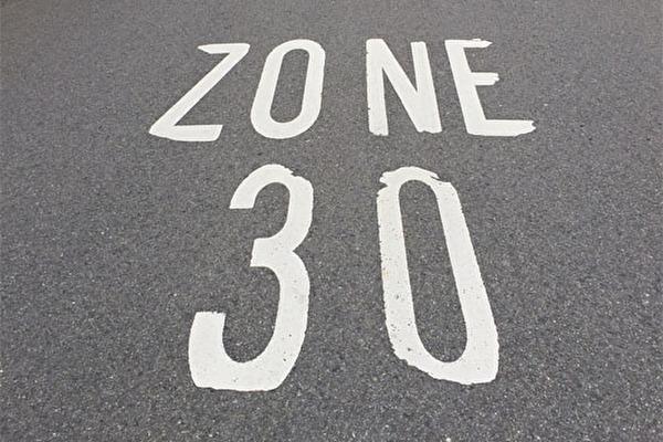 Signalisation Tempo-30-Zone
