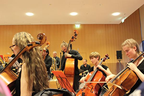 Konzert, Bild in Orchester