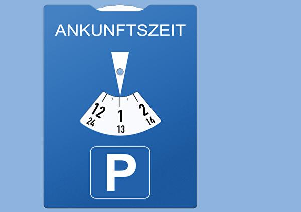Blaue Zone Parkieren Thalwil