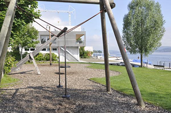 Seeanlage Gerbi mit Spielplatz