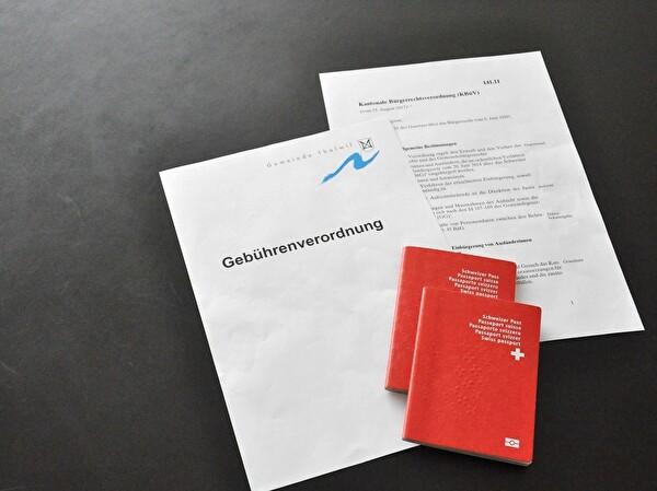 Einbürgerung Gebühren Verordnung