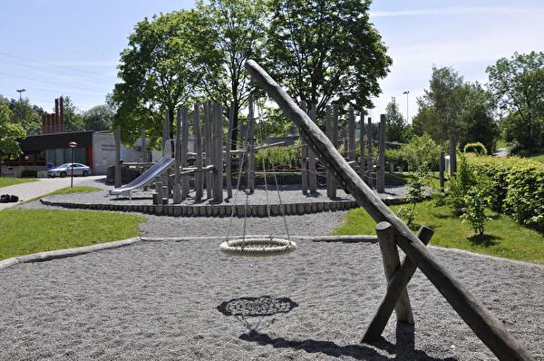 Spielplatz auf dem Schulareal Schweikrüti