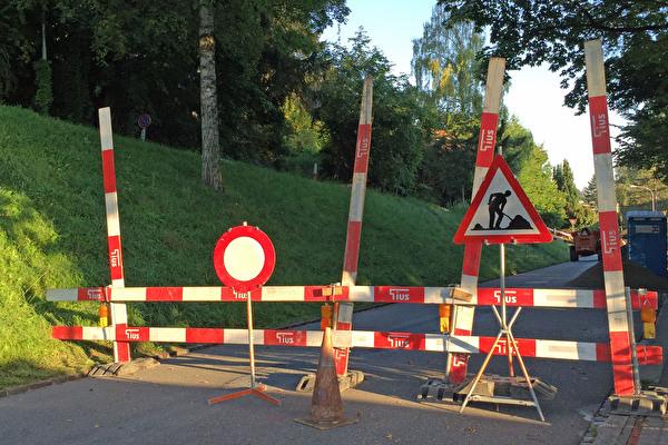 Baustellensignalisation
