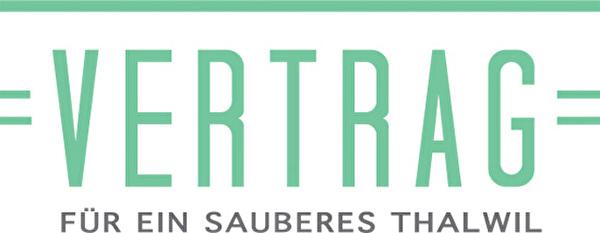 Logo Vertrag für ein sauberes Thalwil