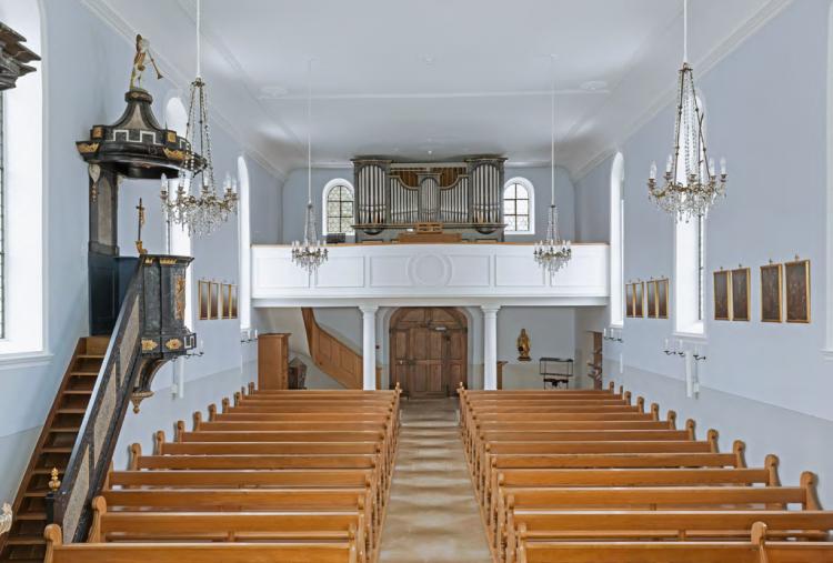 Kirche Meltingen innen2