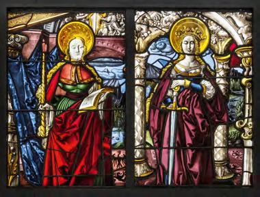 Kirche Meltingen Doppelscheibe 2