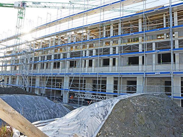 Bau Zentrum Rheinauen, 13.11.2020