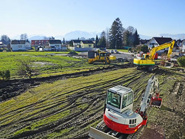 Bau Zentrum Rheinauen, 07.02.2020