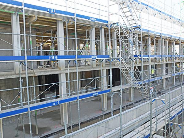 Bau Zentrum Rheinauen, 06.11.2020