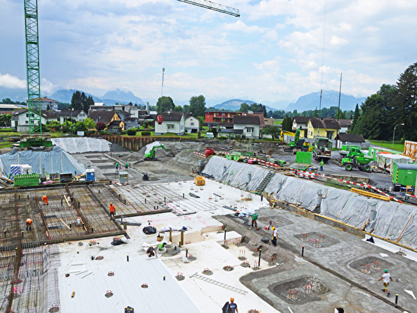Bau Zentrum Rheinauen, 26.06.2020