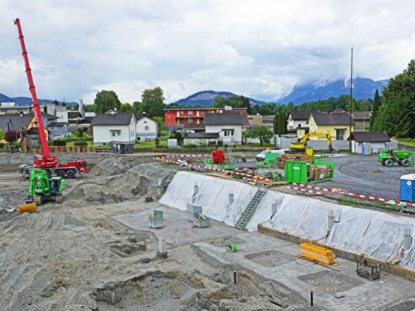 Bau Zentrum Rheinauen, 05.06.2020