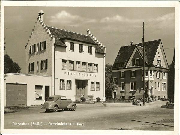 Foto Gemeindehaus und alte Post