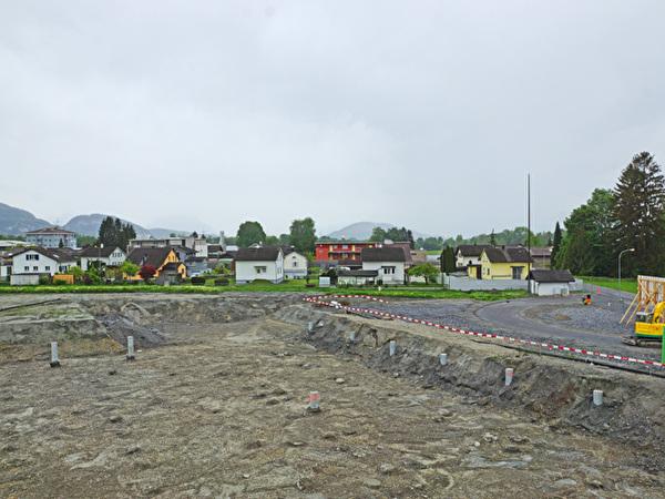 Bau Zentrum Rheinauen, 01.05.2020