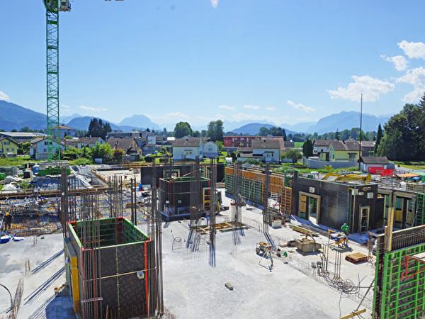 Bau Zentrum Rheinauen, 21.08.2020