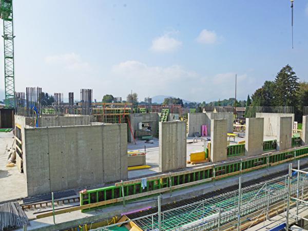 Bau Zentrum Rheinauen, 18.09.2020