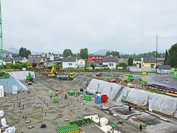 Bau Zentrum Rheinauen, 19.06.2020