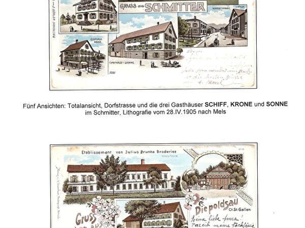 Postkarten von Diepoldsau