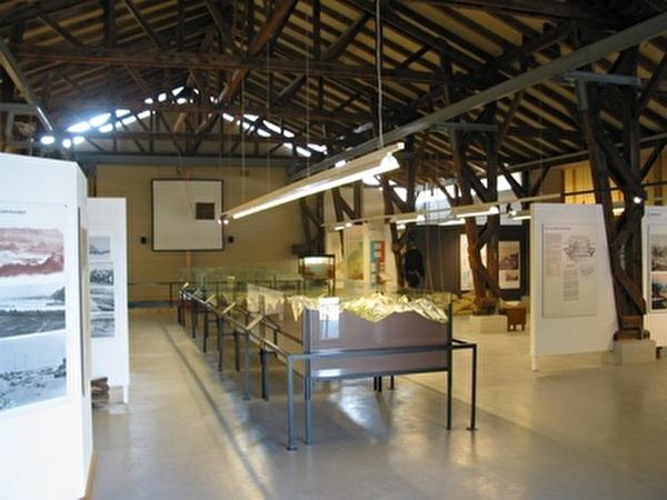 Ausstellungsbereich im Museum