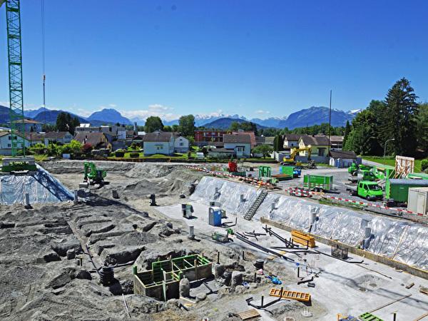 Bau Zentrum Rheinauen, 12.06.2020