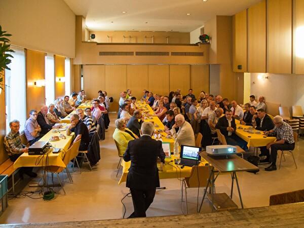 Unternehmer im Freihofsaal