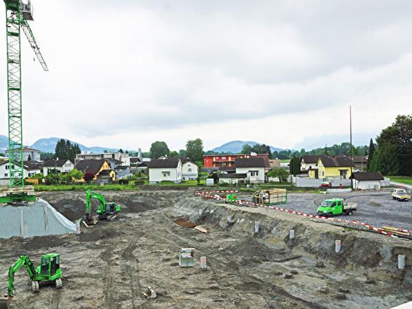 Bau Zentrum Rheinauen, 15.05.2020