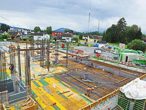 Bau Zentrum Rheinauen, 14.08.2020