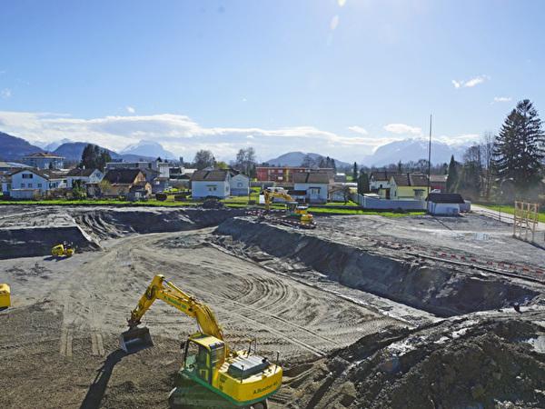 Bau Zentrum Rheinauen, 13.03.2020