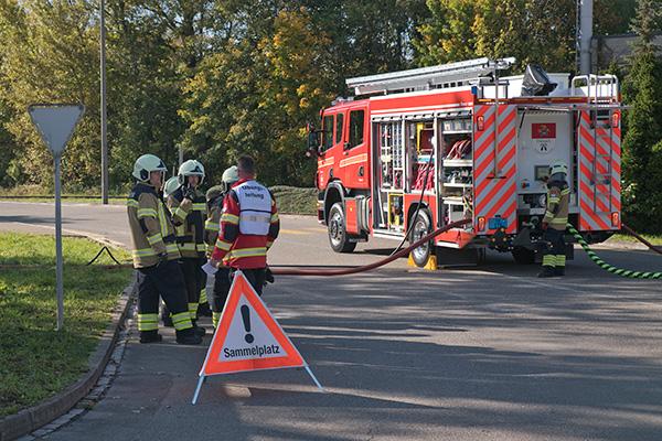 Feuerwehrhauptübung