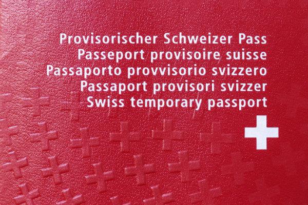 Prov. Pass (Bild: Keystone)