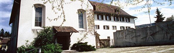 Seitenansicht des Klosters