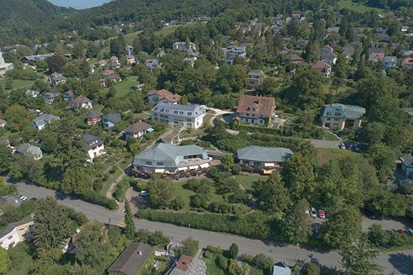 Blick über Oberdornach