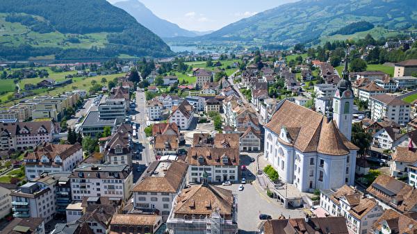 Dorfkern von Schwyz