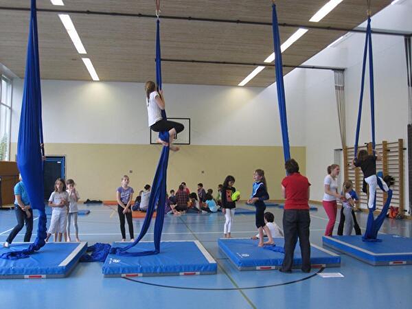 Zirkusprojekt Schulen Feld 1 und Feld 2
